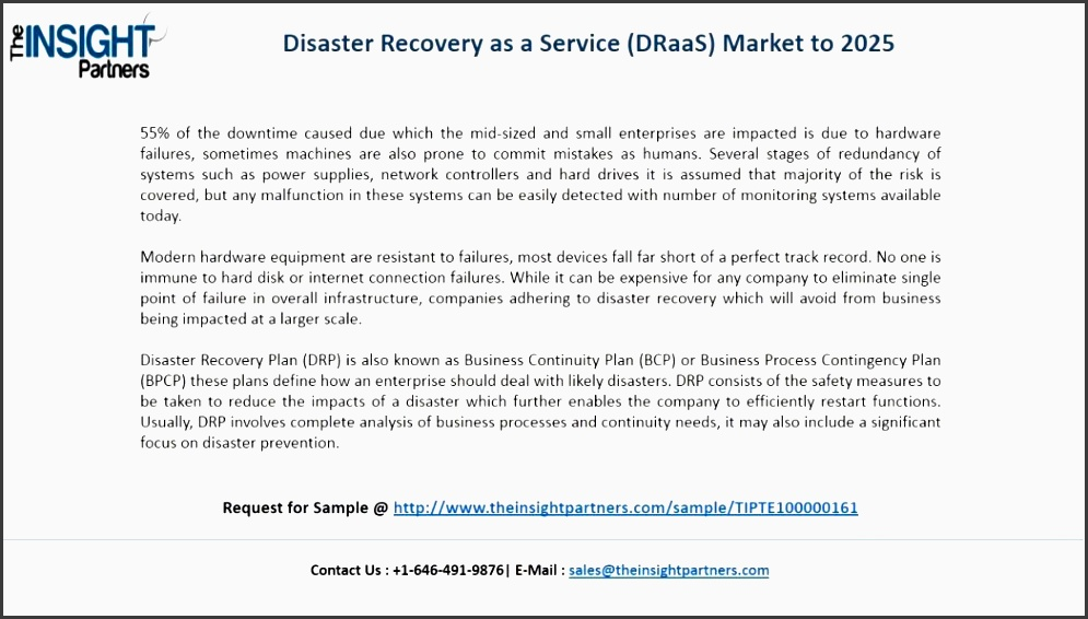 disaster recovery as a service market research reports industry analysis business plan pdf maxresde industry analysis