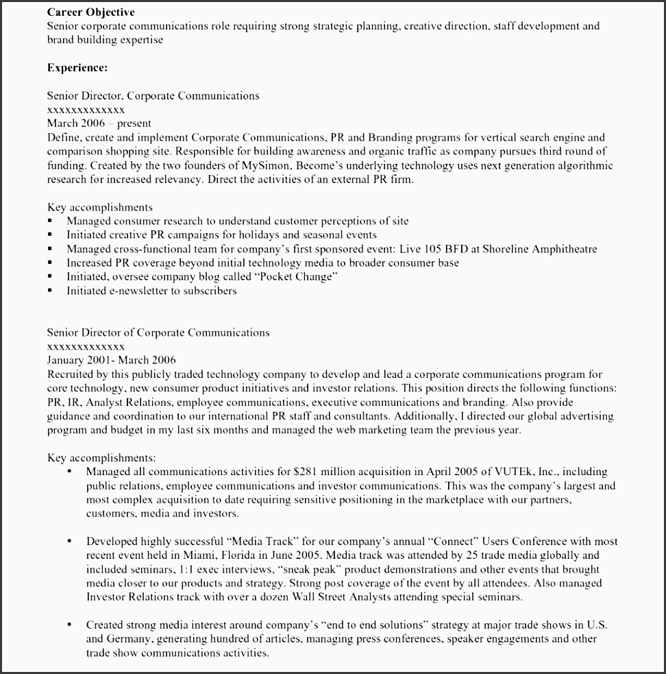 marketing template objective on resume example career objective marketing template s