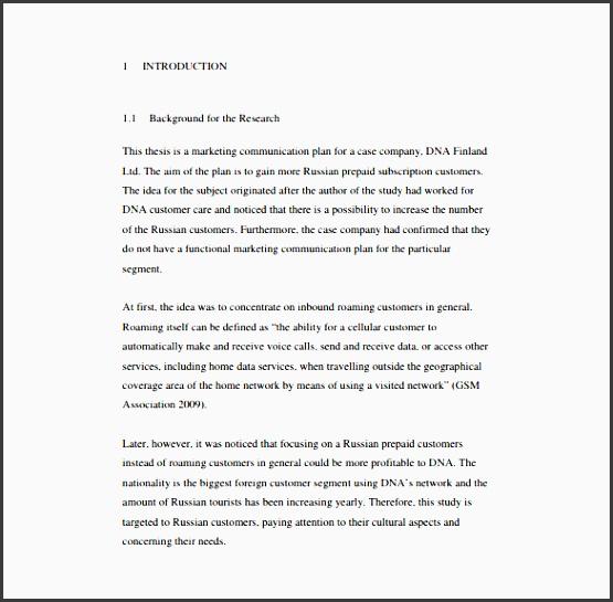 marketing munication plan free pdf format