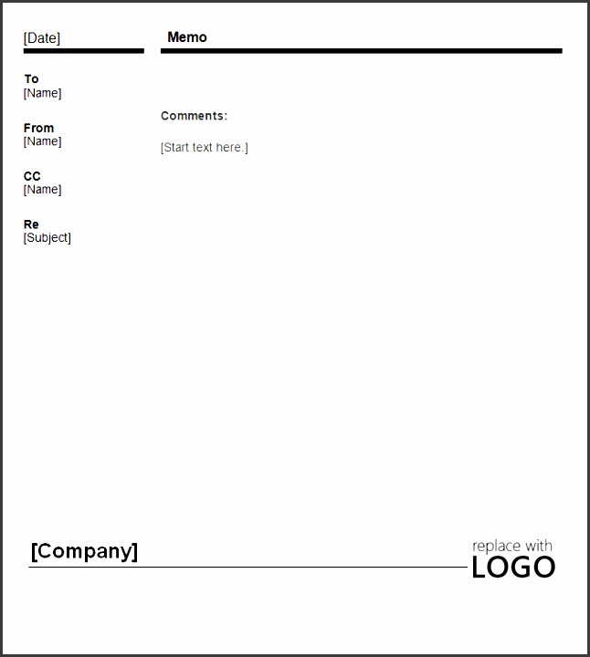 business memos look best when kept simple and to the point with excessive design you might spoil the whole purpose of the memo itself