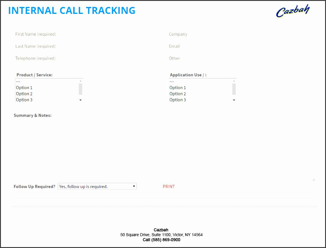 free call log template pdf digital call log tracking form example