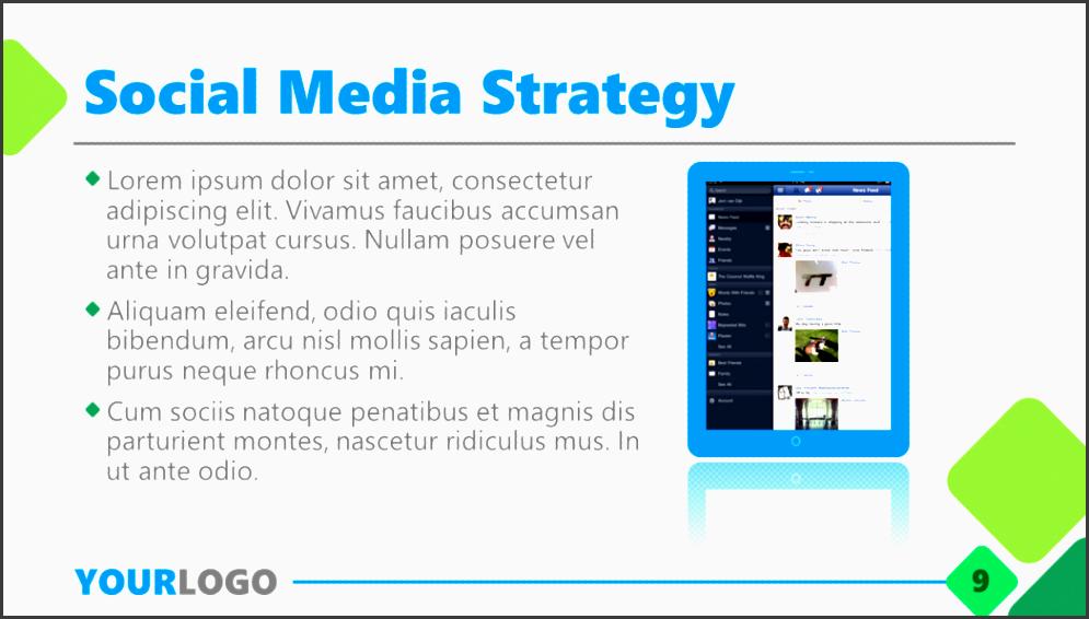 business plan powerpoint template prezentr social media marketing ppt s