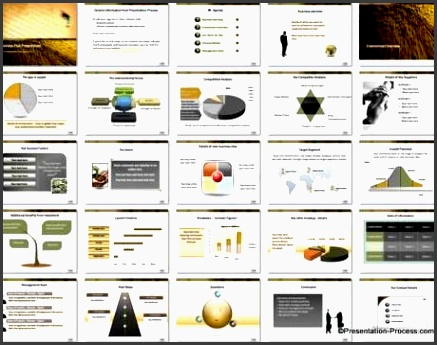 business plan powerpoint template set