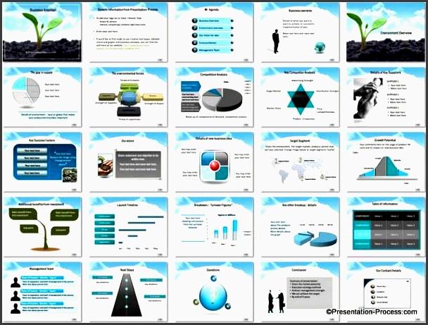 business plan powerpoint template 004