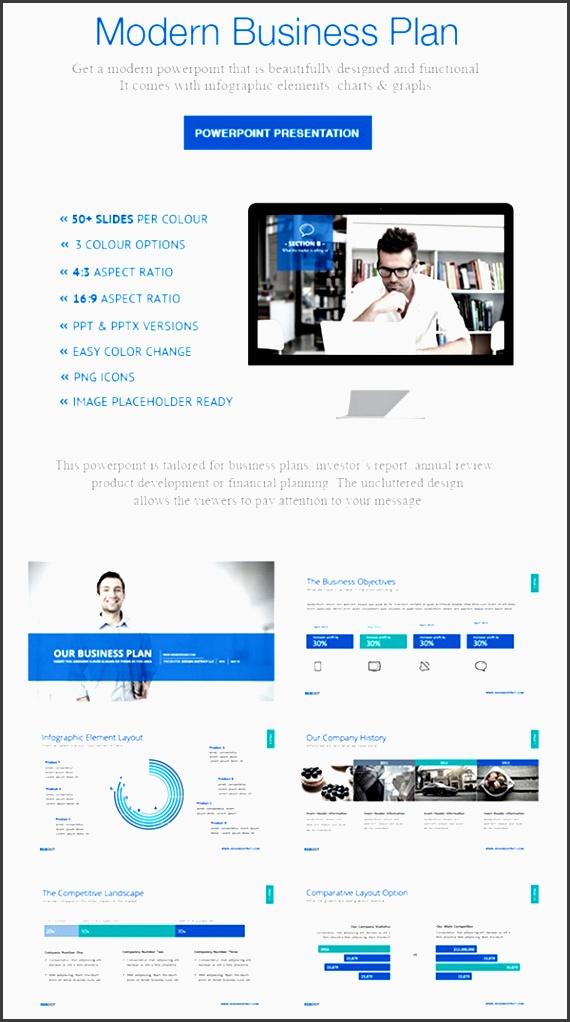 modern business plan powerpoint presentation