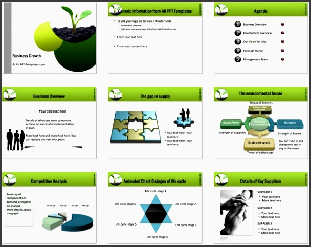 business strategy ppt template powerpoint business plan growth template