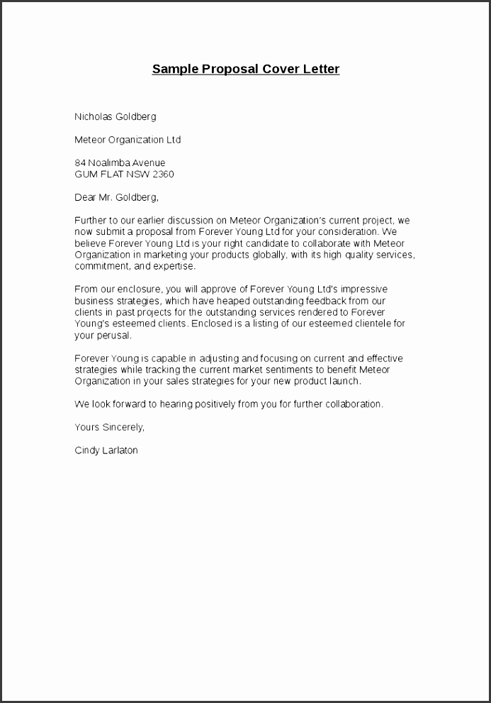 18 sample proposal cover letter bidrfp proposal cover letter