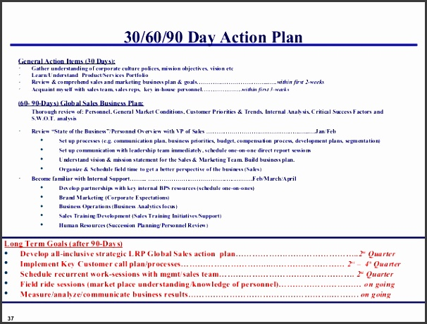 90 day business plan template free sales business plan template template