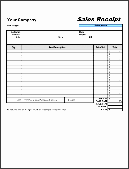 sales receipt 1 fill in the blanks 2 customize template 3 save as print share sign done