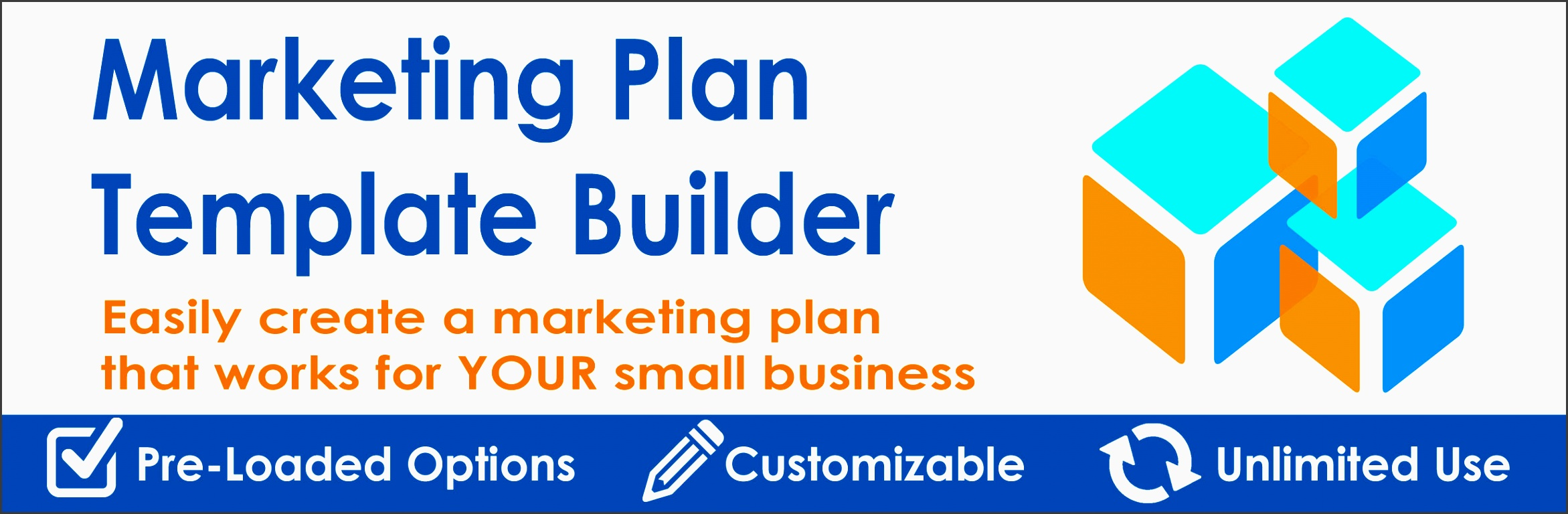 marketing plan template builder for tactics and bud plans small business marketing tools