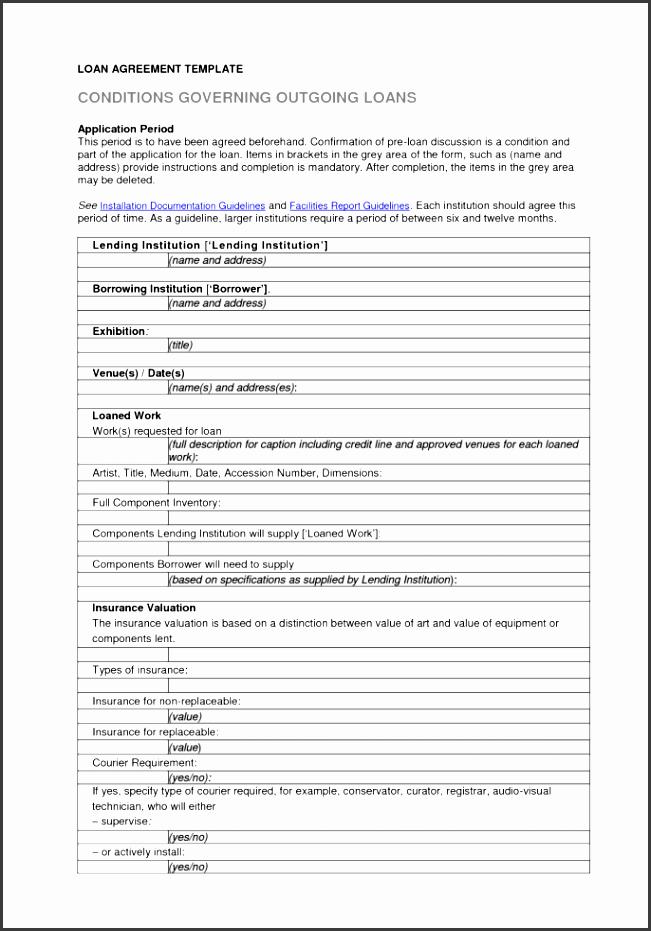 auto loan agreement form free auto loan agreement template loan
