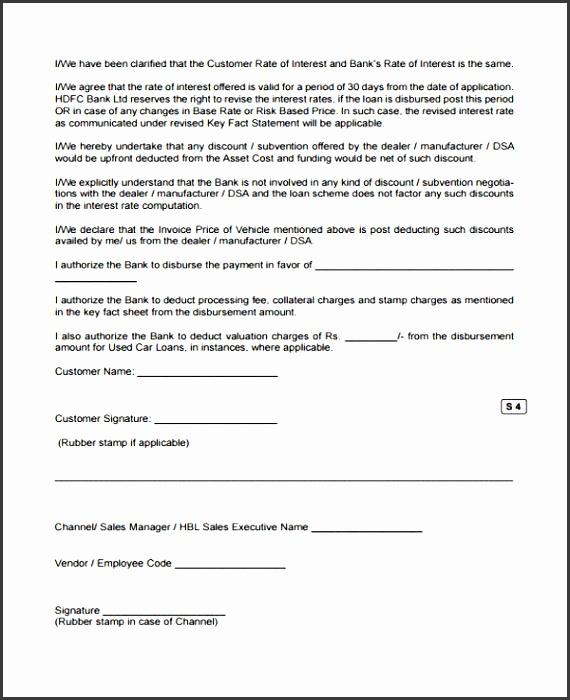printable car loan agreement