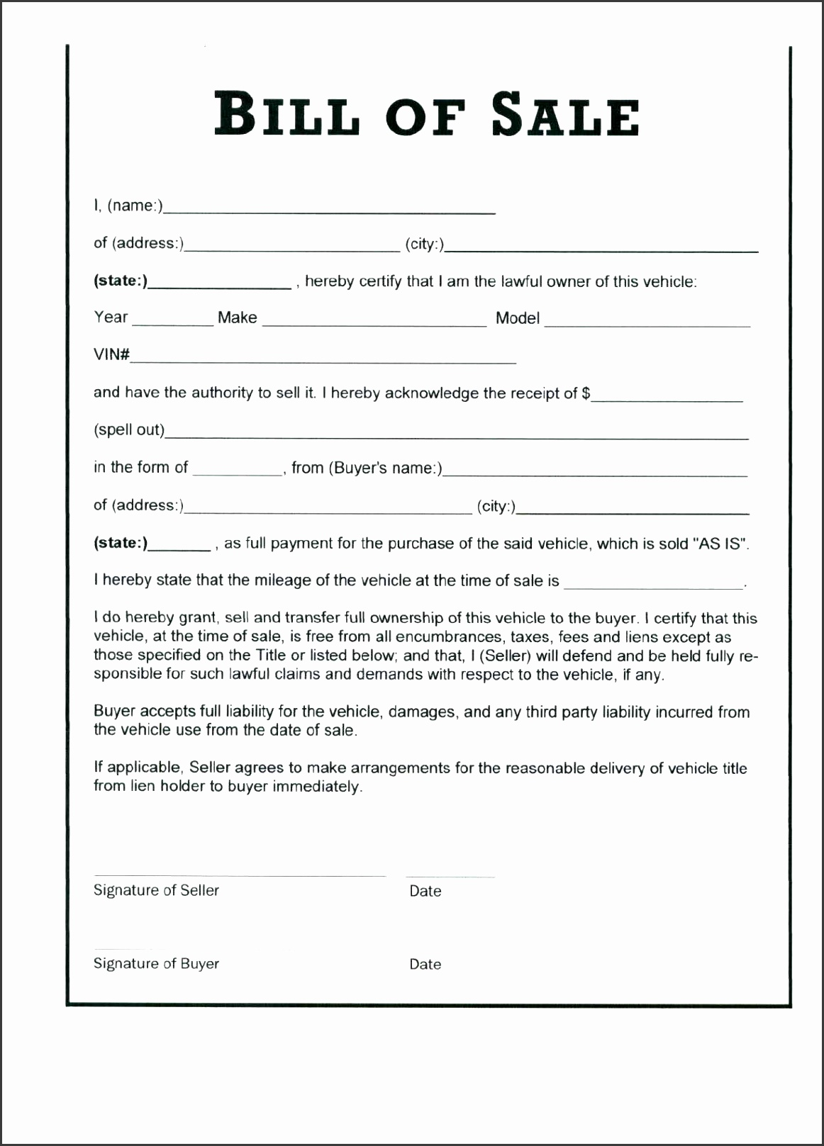 vehicle promissory note template sales receipt format 100 contract template for selling a car free printable