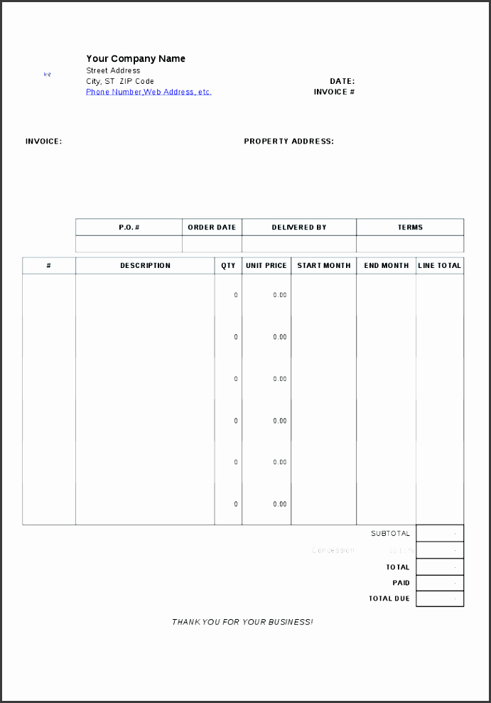 more from invoice