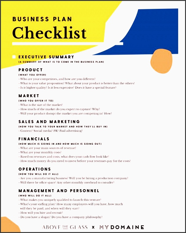 this checklist will turn a great idea into a successful business