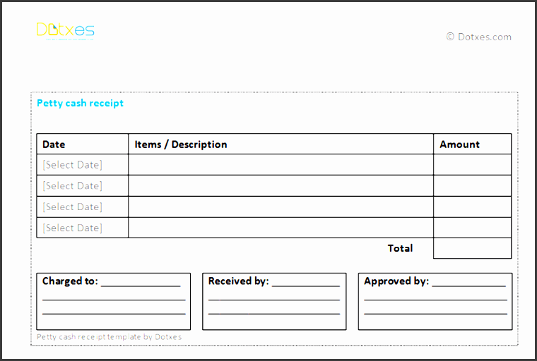 petty cash receipt template for multiple payments featured image