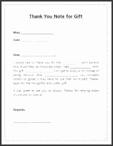thank you note template for t