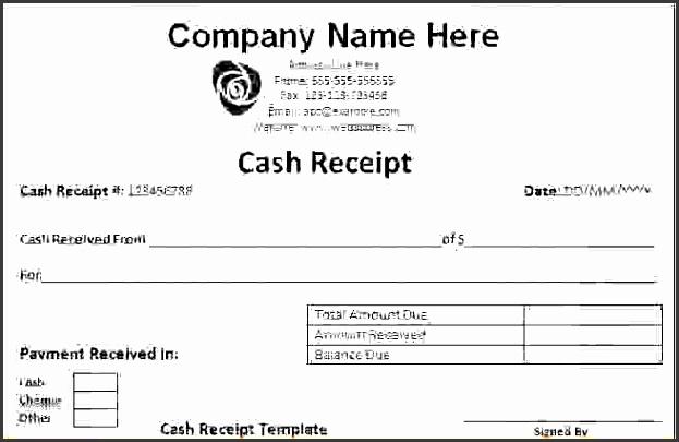 cash receipt template archives fine templates