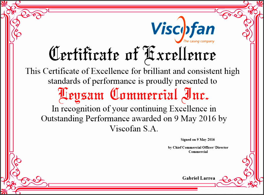 certificate of excellence free certificate templates for employees you can add text