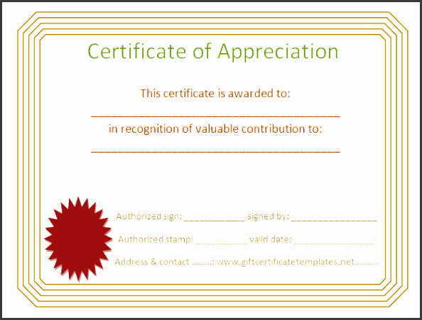 ac plishment certificate of appreciation certificate templates