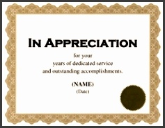 appreciation certificate free template image geographics m