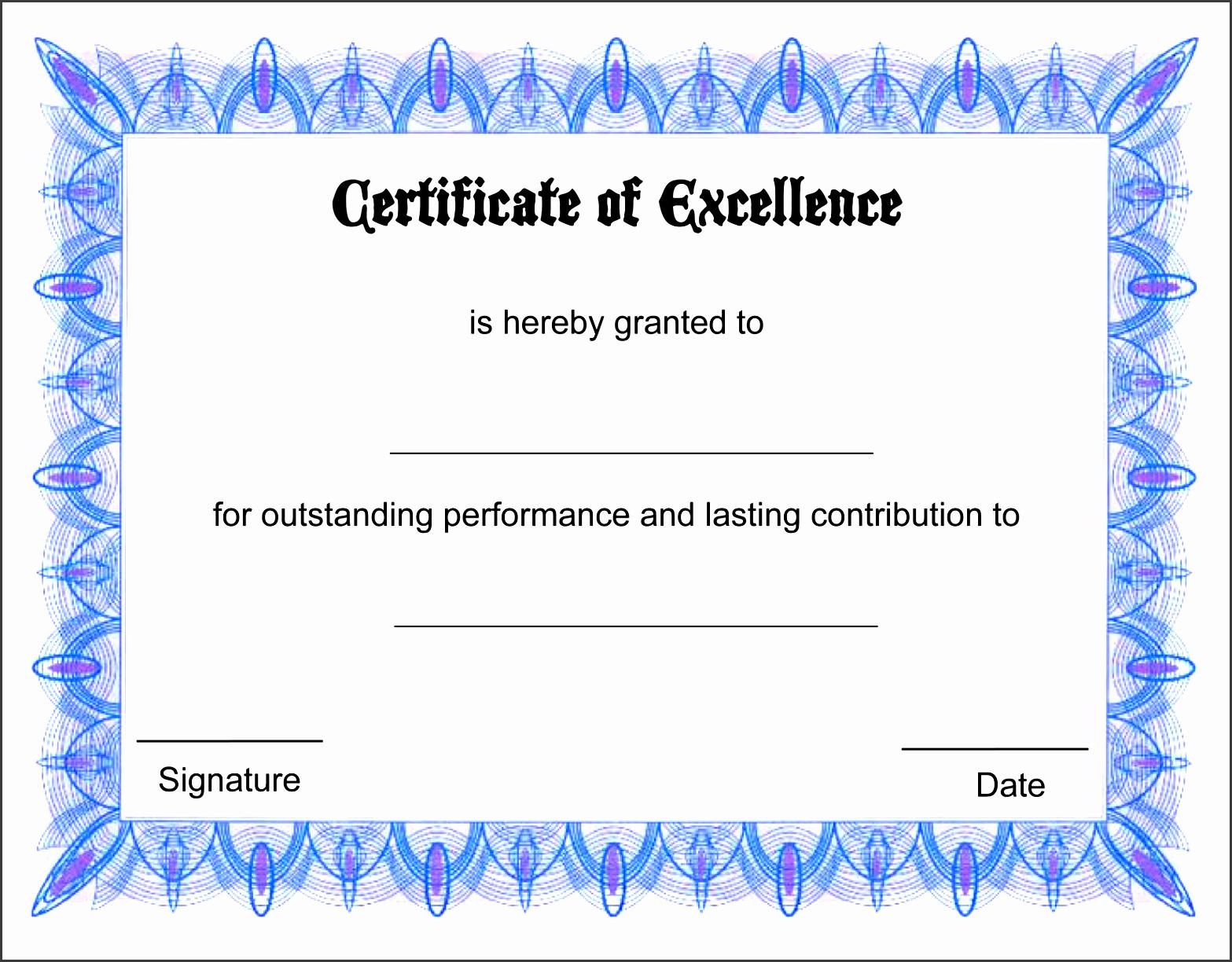 printable certificate templates certificate templates