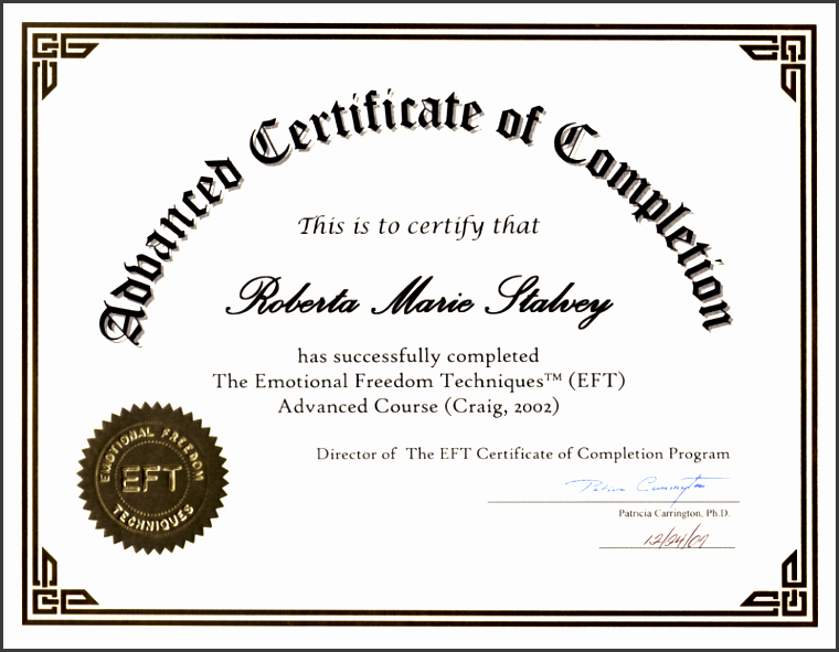 certificate of pletion template 7844
