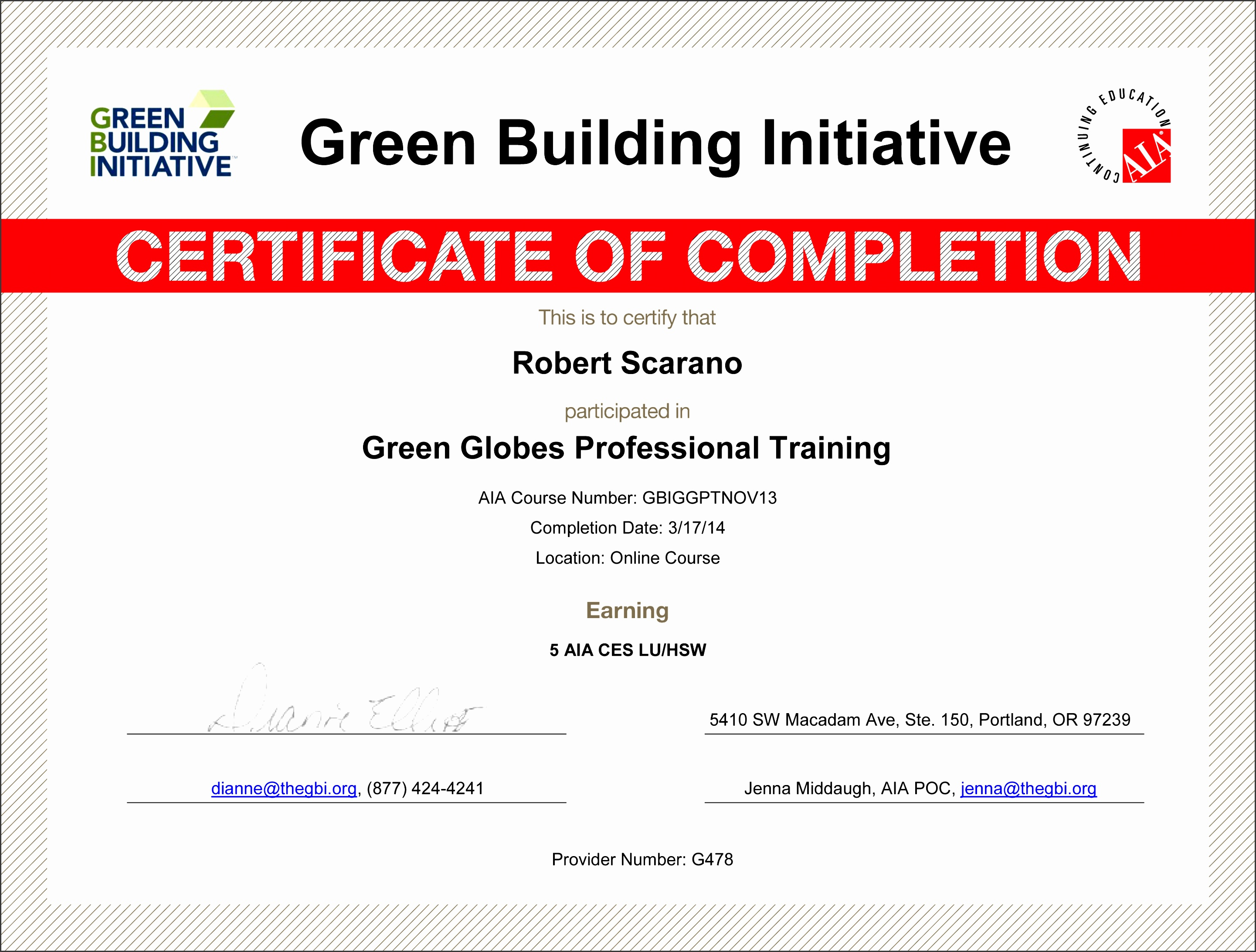 ideas collection bright n green magnificent certificate of pletion construction