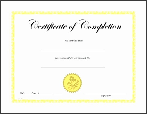 certificate of pletion templates free printable free training with blank certificate of pletion template 7367