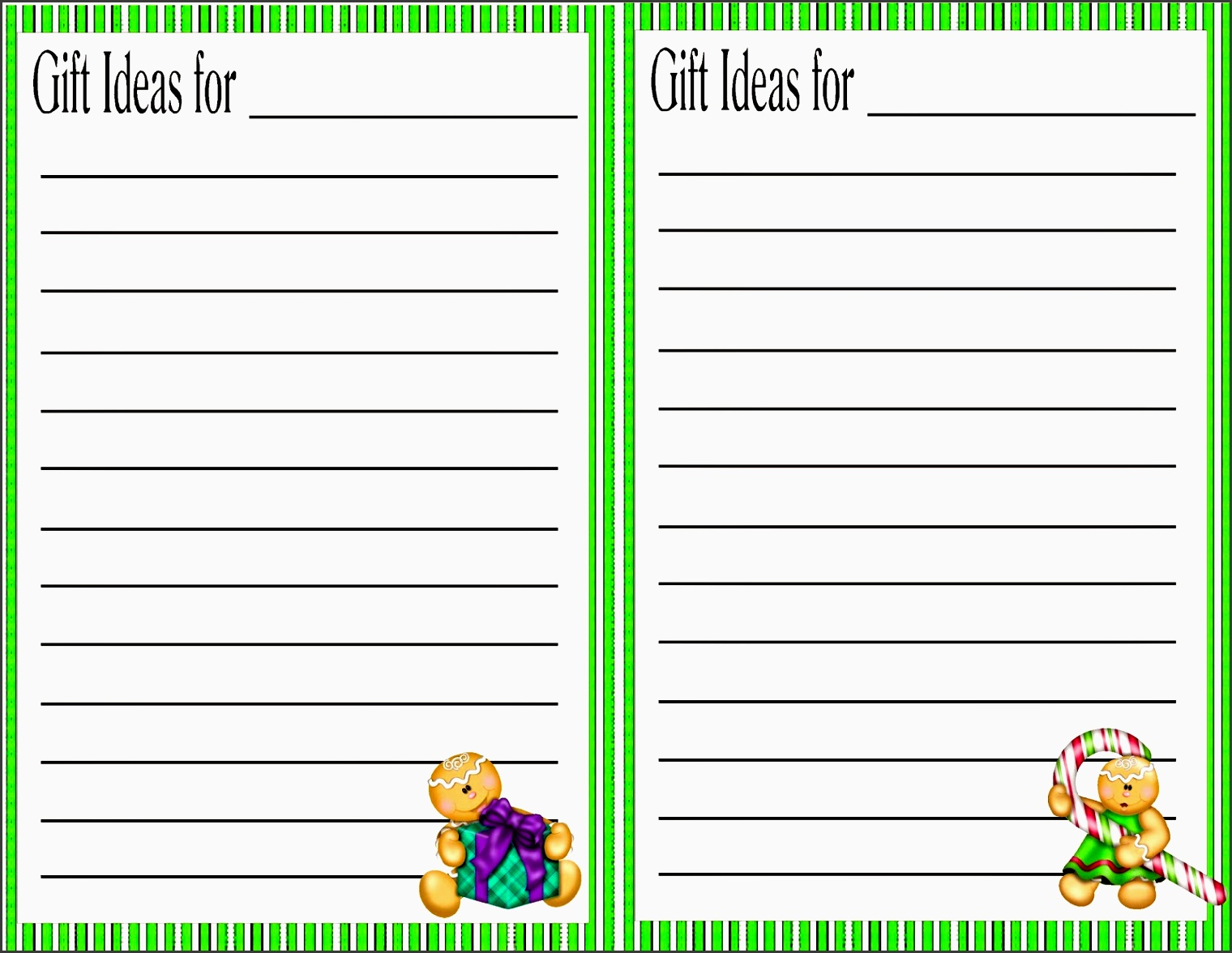 help your christmas run a little smoother by using this planner printable to gather christmas t