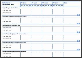 task worksheet template and pmp task calendar template project starter usaid