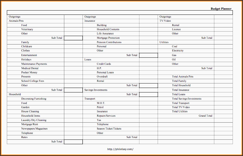 bud planner template bud png scope of work template