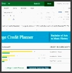 be on your toes with this college credit planner template 150x150