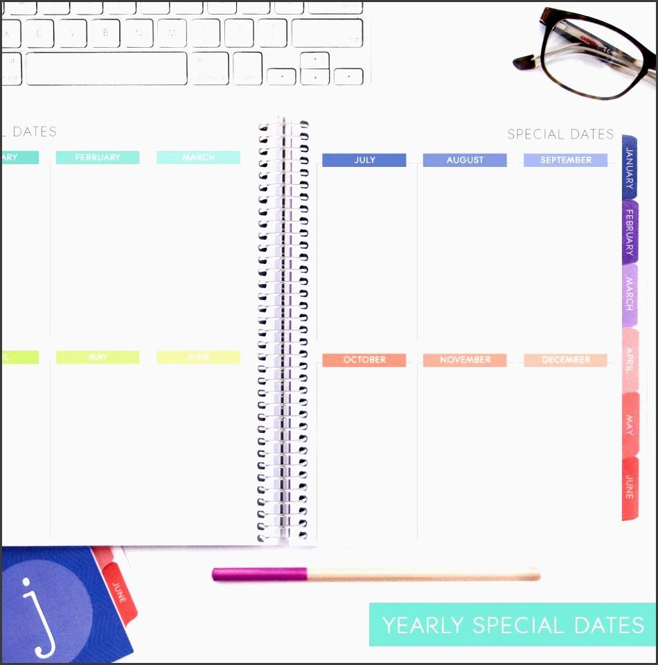 weekly planner vertical layouts