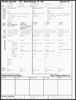 4+ College Year Planner Template Easy to Edit ...