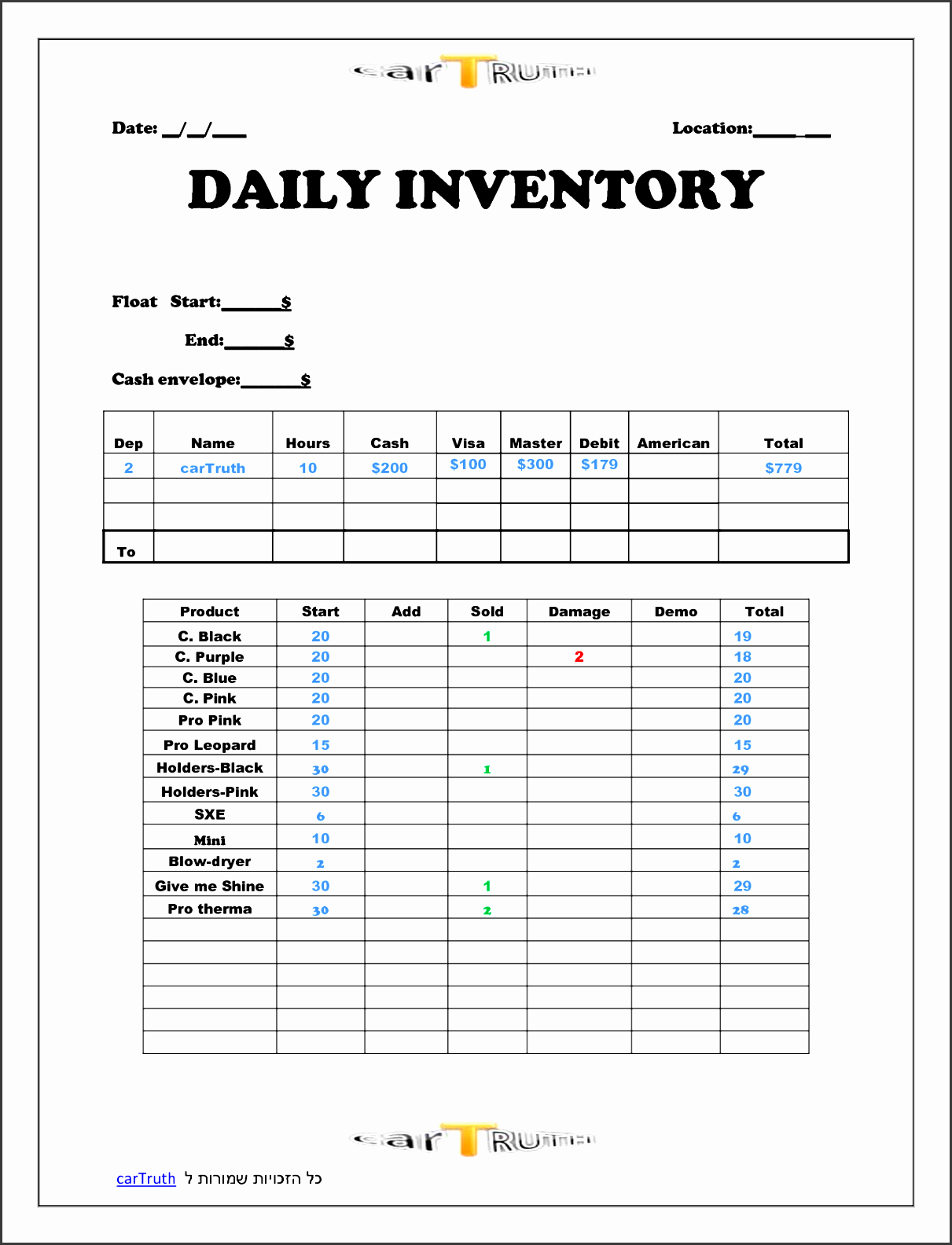 6 Company Daily Report Template - SampleTemplatess ...