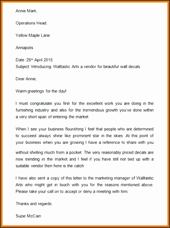 business introduction email sample to client pany introduction letter