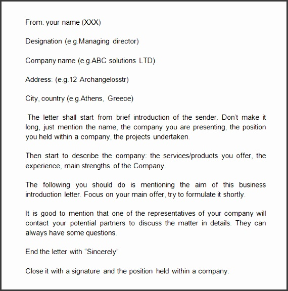 sample business introduction letter 9 free documents in pdf word