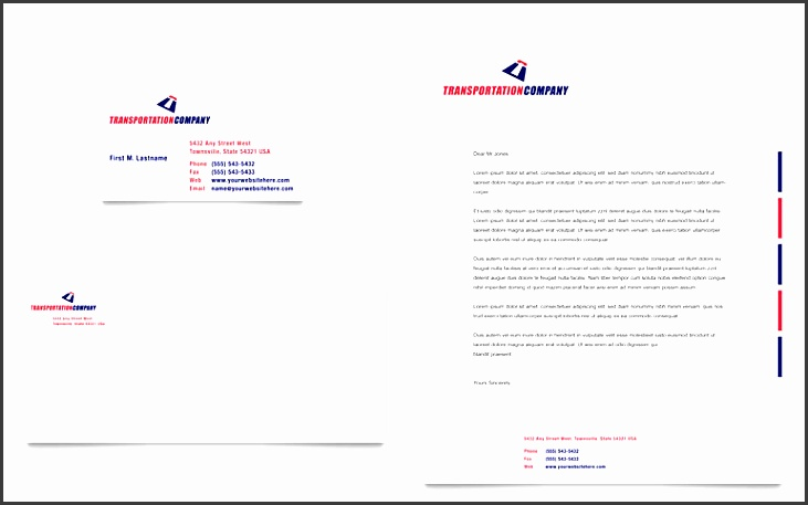 business stationery templates word transportation pany business card letterhead template word printable