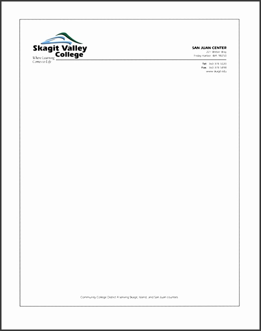 letterhead template free