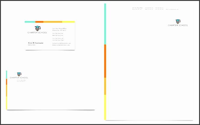 charter school sample letterhead template