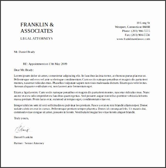 attorney free letterhead template