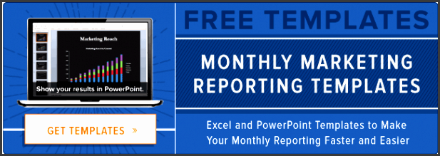 free marketing report template