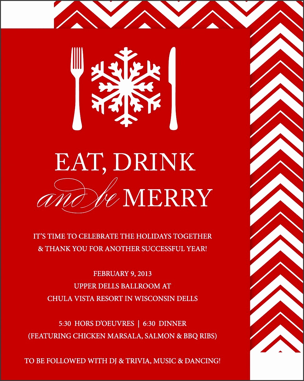 letter of invitation christmas party 8 company invitation template sampletemplatess 13245