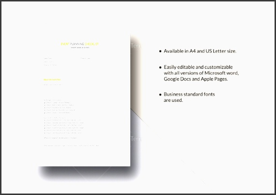event planning checklist template in excel