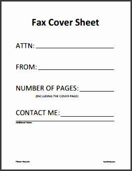 fax cover sheet example fax cover letter templates