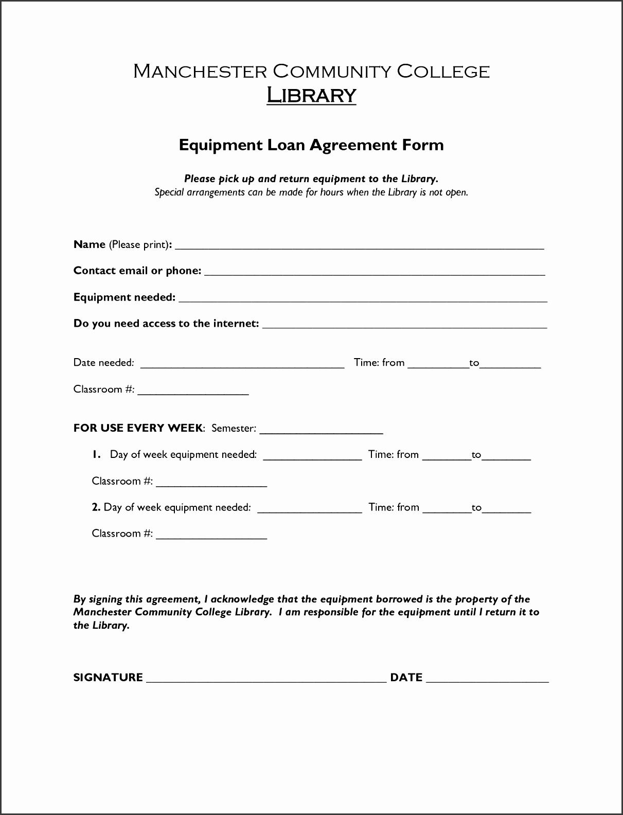 8 construction loan agreement template
