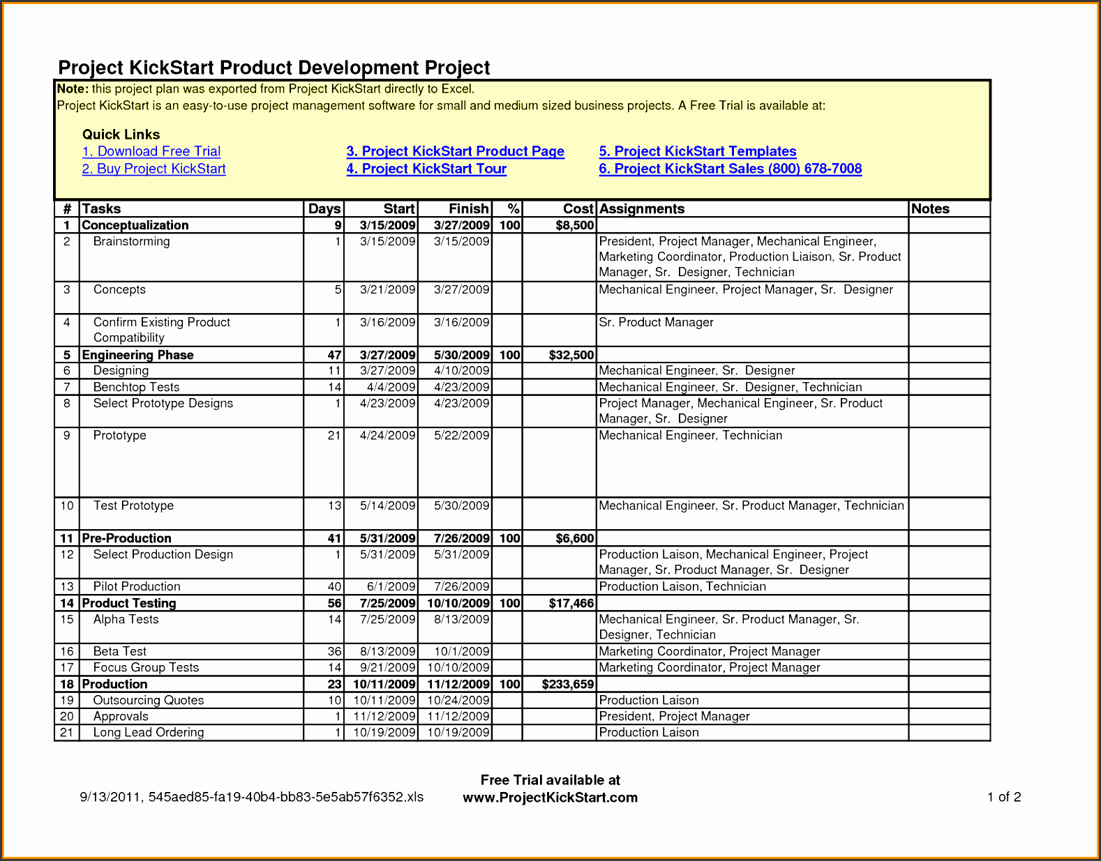 project template excel png scope of work