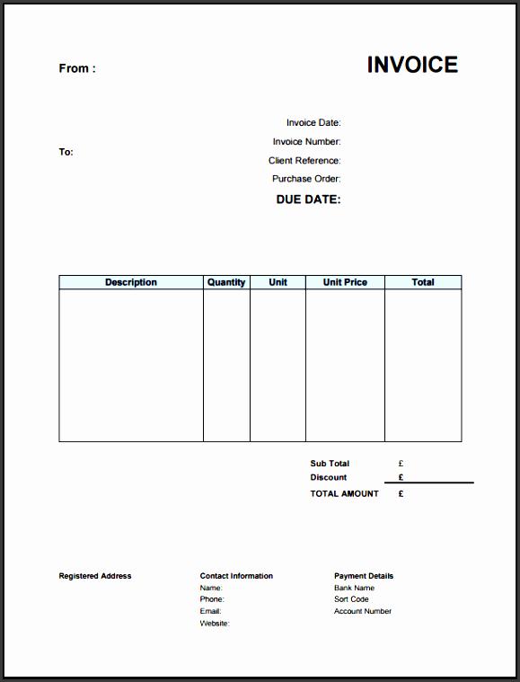 free invoice for freelancers that aren t vat registered