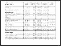 contractor invoice template pleasurable 21 sample free